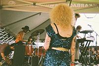 Evento no Hotel Vegas que tinha como curadores os programadores do festival Levitation.